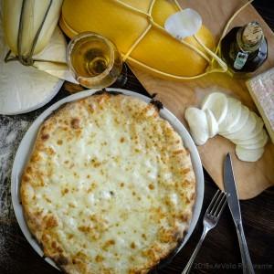 ArVolo Pizza bianca Quattro formaggi
