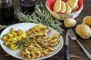 ArVolo Tagliata di Pollo al rosmarino