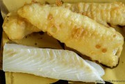 Filettone di Baccalà in pastella