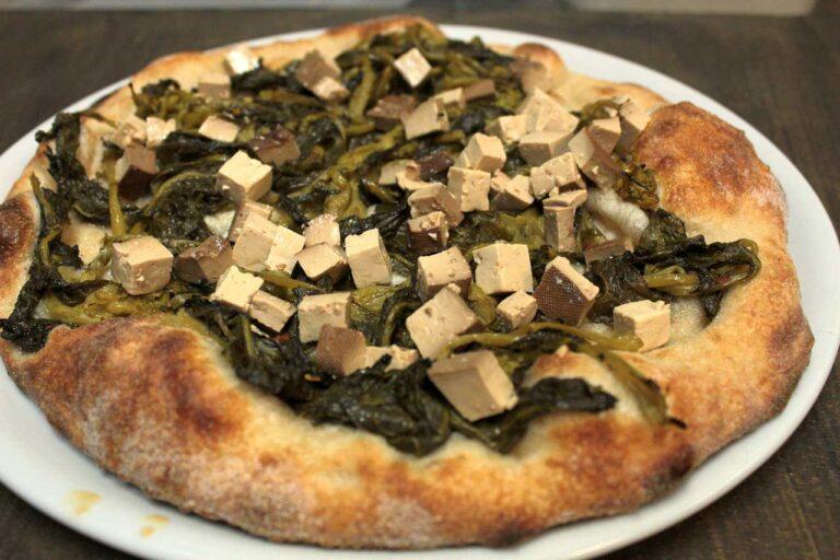 Pizza Friarelli e tofu