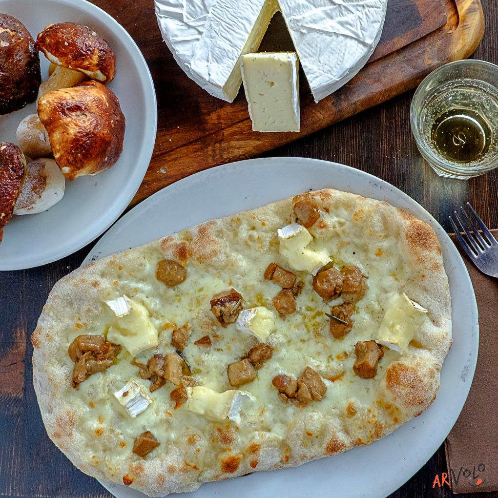 ArVolo Pinsa Funghi Porcini e Brie