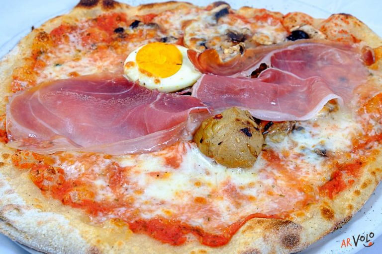 ArVolo Pizza rossa Capricciosa