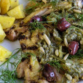 ArVolo Tagliata di Pollo in salsa al finocchietto selvatico