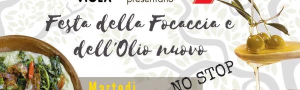 #FocacciaFest – Festa della Focaccia e dell'Olio nuovo (21 novembre)