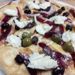 special pizza petto d'oca mozzarella olive emmental