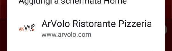 Ora il sito ArVolo è un'applicazione web progressiva