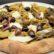 Pizza Scarola con olive miste, alici, pomodori verdi e fiordilatte