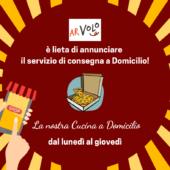 Parte il servizio di consegna a Domicilio!